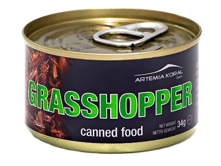 Canned Grasshoppers