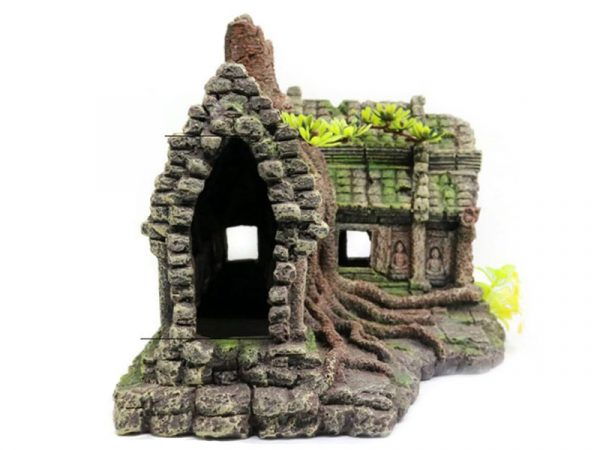 Resin Imitation Wooden Root House